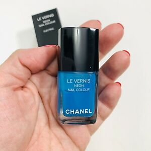BNIB Chanel 148.802 Neon Wave Electric Blue Limited Edition Nail ...
