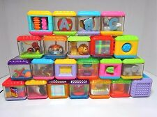 Fisher-Price Peek A Blocks  22 Interactive Blocks - ABC