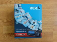 Sirius Starmate (ST) 6 Satellite Radio Receiver w/ Vehicle Car kit ST6KT1C