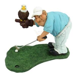 Golf Player Eagle Put, 16 CM Sports Funny Figurine Collection, New