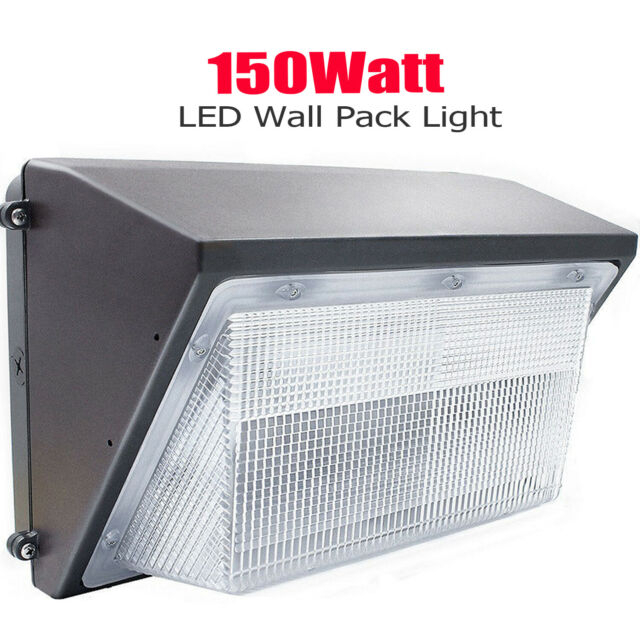 5850LM 100-277V AC Outdoor 2 Pack 45W LED Canopy Light 150W-250W Equivalent