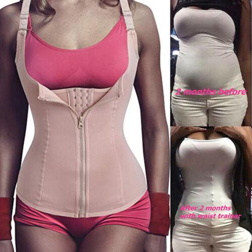 Body Shaper Slimming Shapewear Tummy Control Sweat Vest Fit Corset Sauna Suits
