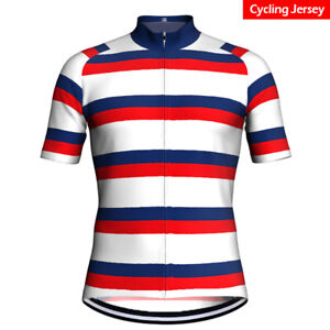 Mens-Cycling-Jersey-Bicycle-Bike-Kit-Shirt-Team-Ride-Race-Short-Clothing-Top-MTB