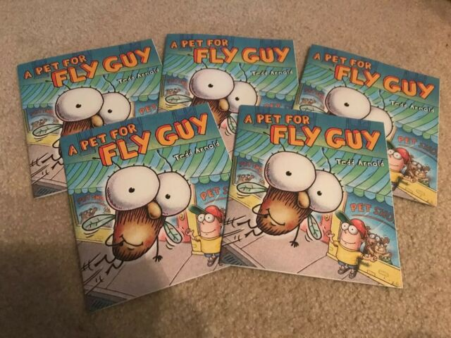 NEW Lot 5 A PET FOR FLY GUY Tedd Arnold GUIDED READING Lit Circle Picture books