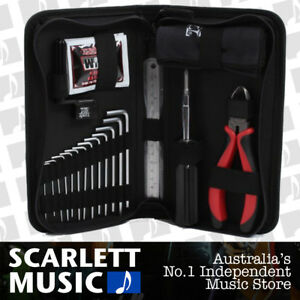 Ernie Ball 4114 Musician's Tool Kit Toolkit Guitar Instrument Care Pack