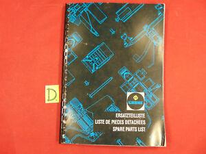 Schlosser Grohe Ersatzteilliste Liste De Pieces Detachees Spare Parts List Ca.24x18cm üPpiges Design