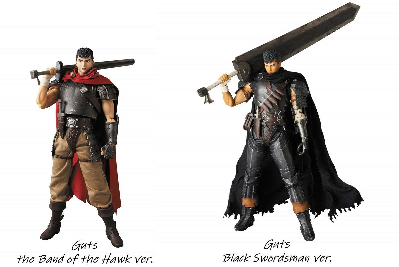 RAH Berserk  Guts 300mm 12in Big size figure Real Action Heroes free Expedited
