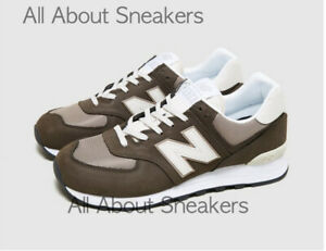 """New Balance 574 """"Brown"""" Men's Trainers All Sizes Limited Stock"""