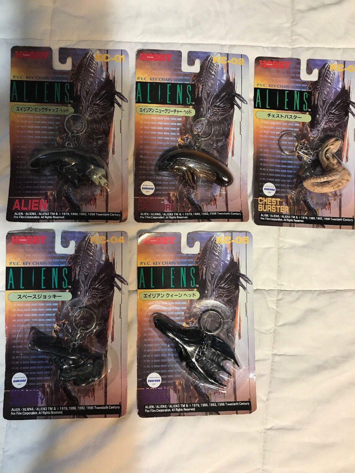Aliens Tsukauda Hobby Key Chain Sällsynta japanska importeraeraeraera Nästan komplett