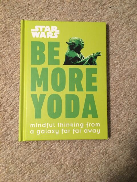 Be More Yoda Book. New.