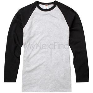 Fruit-of-the-Loom-Long-Sleeve-Baseball-T-Shirt