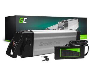 E-Bike Akku 24V 12Ah Li-Ion Elektrofahrrad Silverfish Batterie mit Ladcegerät