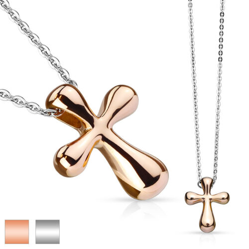 Cross Stainless Steel Pendant with Chain Necklace