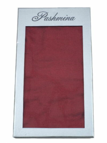 Ladies 91026 91022 red or black pashmina £5.99 By Unbranded