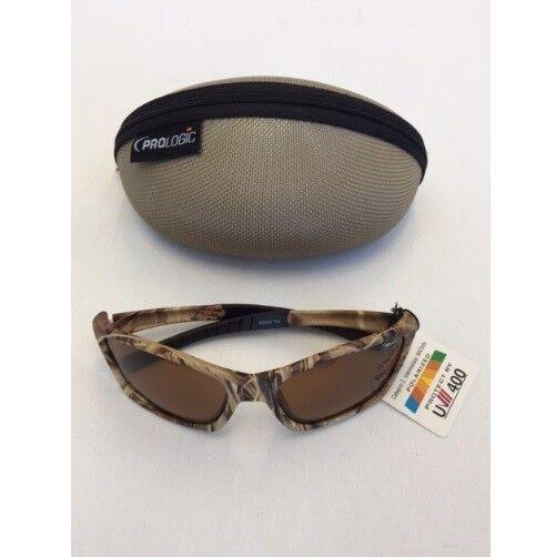 Prologic Brille Polbrille   Polarisationsbrille hochwertiges Etuit Camouflage
