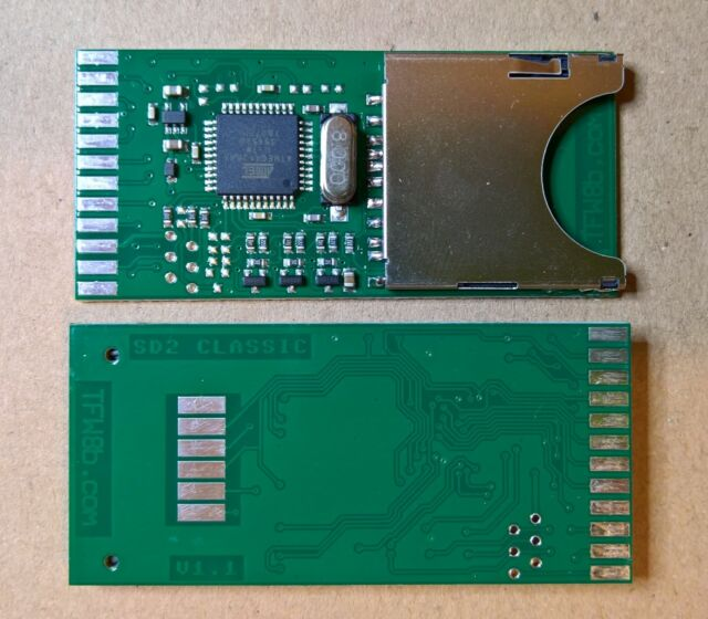 NEW 2019 SD2IEC SD Card Reader for Commodore 64 C64