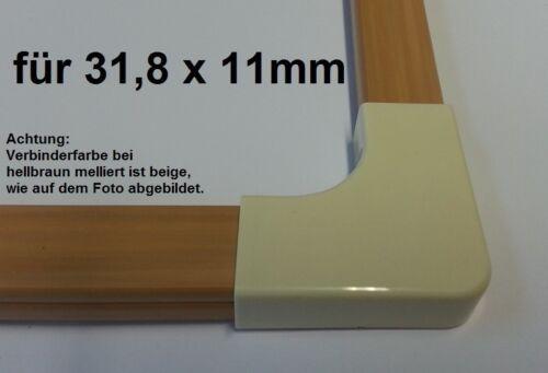 """Lien-type /""""L/"""" Convient pour câble Canal 31,8x11mm"""
