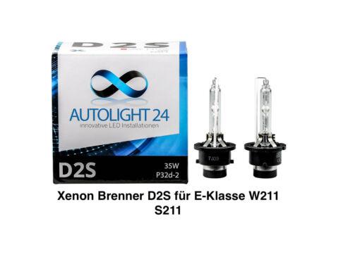 2 x Brûleur au xénon d2s pour Mercedes Classe E w211 s211 lampes poires E-AUTORISATION