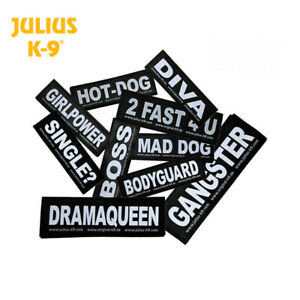 Julius-K9-etiquettes-de-correctifs-pour-Harnais-Pour-Chien-Ceinture-Harnais-Guide-Harnais-Colliers