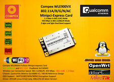 Compex wle900vx Atheros qca9880 MiniPCI Express 802.11ac 1300 Mbps 3x3 5ghz 2.4gz