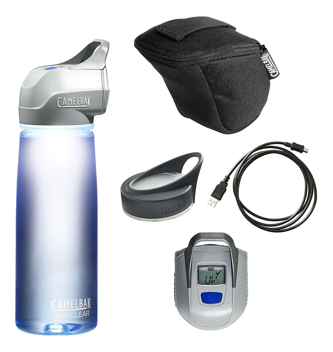 CAMELBAK ALL CLEAR UV PURIFIER UV 0.75 L (NEW, WORKING, COMPLETE SET  )