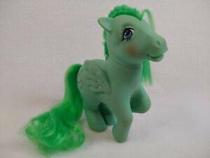 "Vintage 1983 G1 Hasbro My Little Pony Medley Green Music Notes 5"" Brushable"