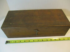 Brown Amp Sharpe Wood Box For Height Gage Or Other Precision Tool Empty Vintage