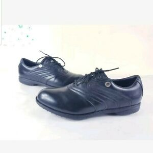 Adidas-Golf-Shoes-Black-UK-11-Excellent-condition