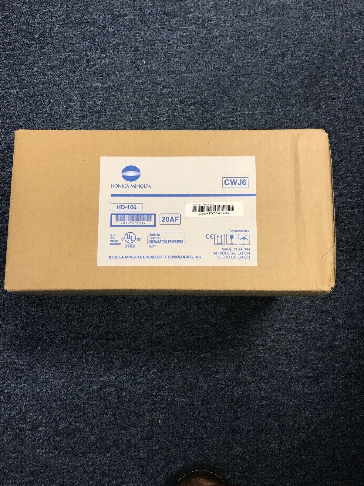 KONICA MINOLTA HD-106 HARD DISK DRIVE FOR C500 NEW IN BOX HD 106