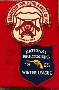 2-NRA-Patches-Gloucester-Twp-Pistol-amp-Rifle-Club-NJ-amp-Winter-League-65