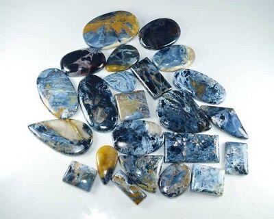 Blue Pietersite AAAA+++ High Quality Natural Pietersite Gemstone 47X22MM Size Flashy Pietersite 22 Carat Loose Fancy Shape Cabochon
