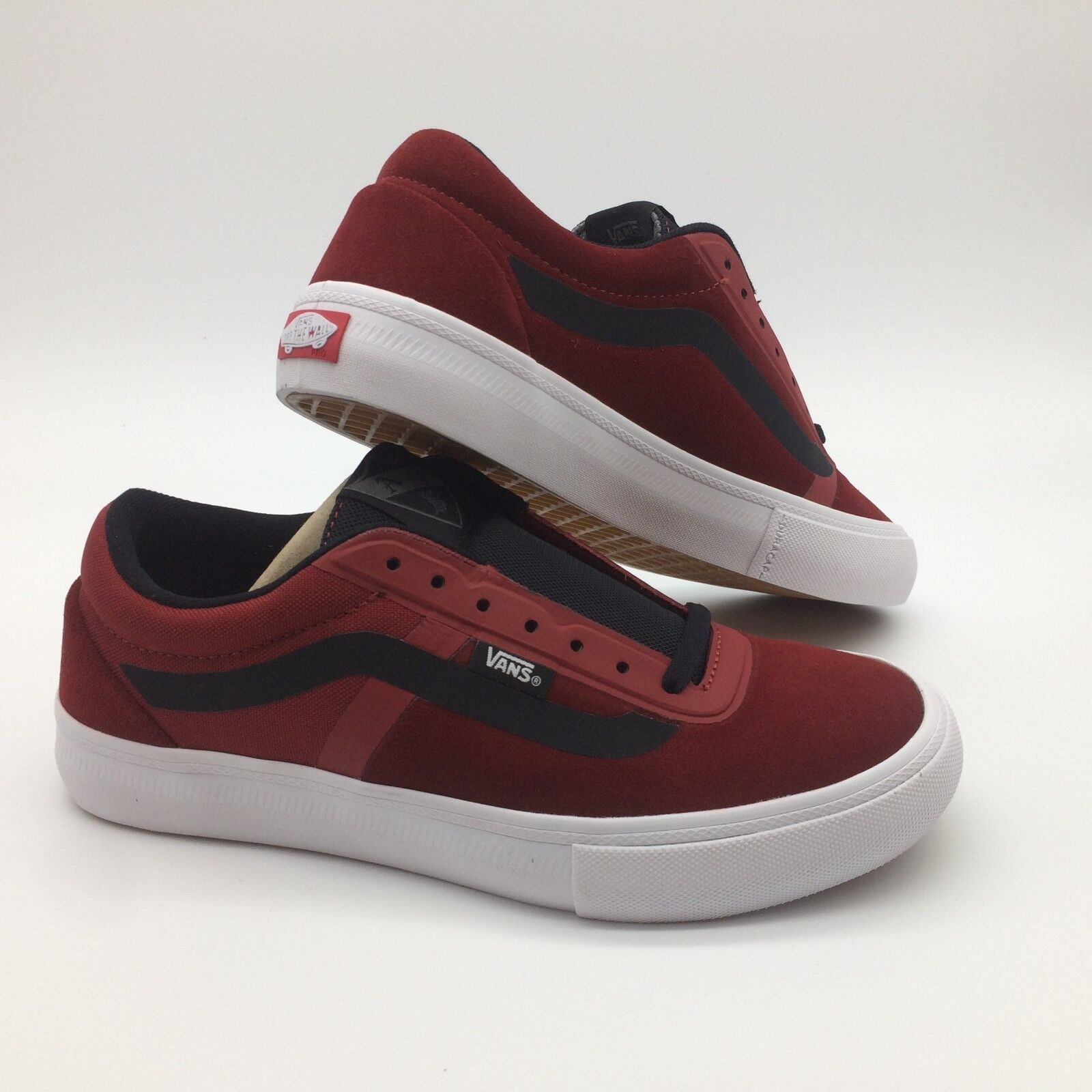 Vans Men's shoes AV Rapidweld pro'' Red Dahlia White