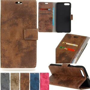 Retro-Wallet-Flip-PU-Leather-Wallet-Stand-Card-Case-Cover-For-Various-Phone