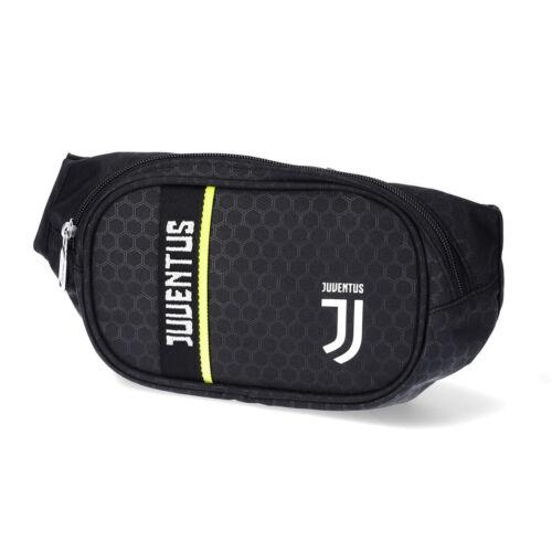 Juventus Marsupio Nero Seven Get Ready Prodotto Ufficiale Chiusura a Zip