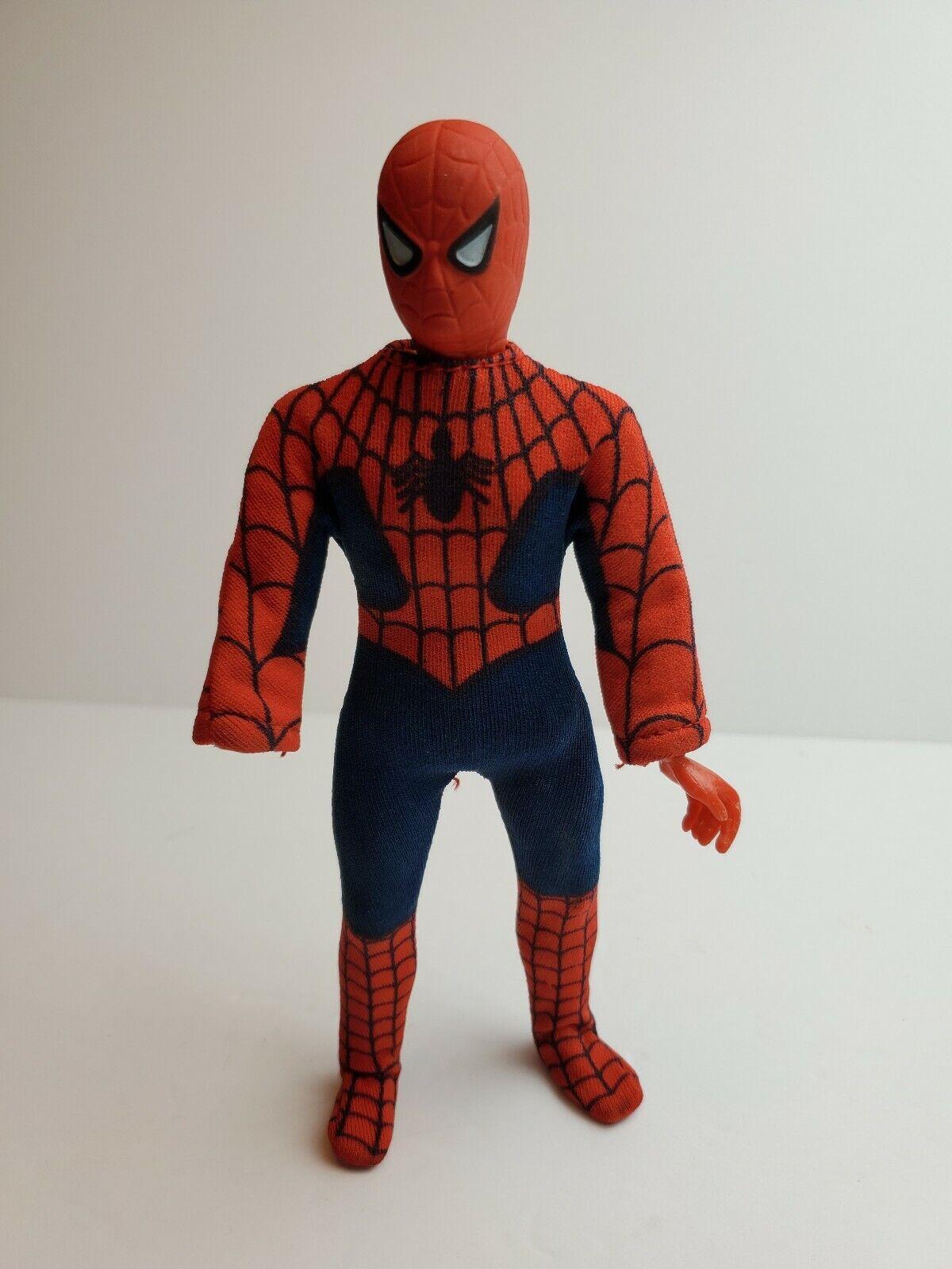 Vintage Original 1972 Mego Spider-Man Action Figure all original  hand missing