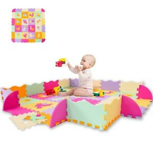 Baby-Play-Mat-with-Fence-Interlockin-Foam-Floor-Tiles-With-Crawling-Mat