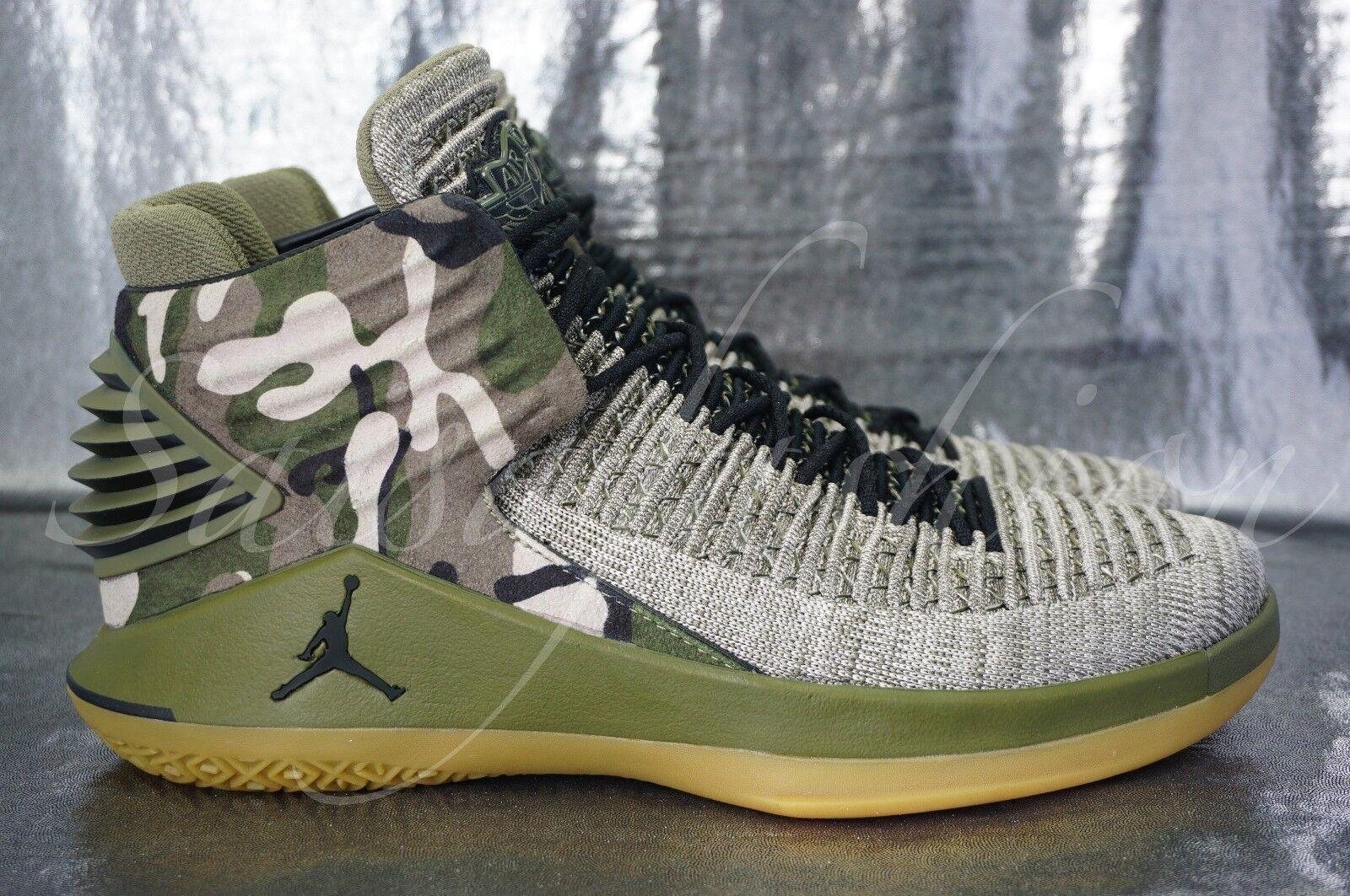 Nike Air Jordan XXXII 32 Veterans Day Olive Desert Camo AA1253-2018 Men Comfortable Casual wild