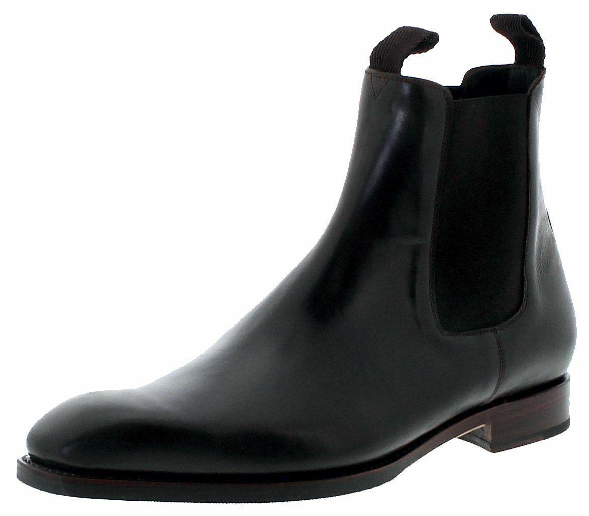 Sendra botas 5595 Blake marrón señores chelsea botas traje marrón zapatos