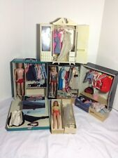 *Huge Lot* Vintage 1960's Barbie Ken Midge plus dozens Clothing and Accessories