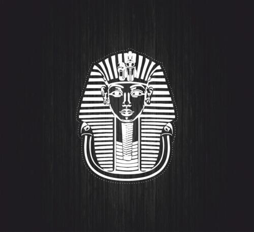Sticker decal ancient egypt archaeology egyptian macbook tutankhamun pharaoh r1