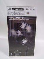 Gemmy Led Kaleidoscope Spotlight - Whirl-a-motion Swirling Spider Lights