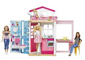 Mattel-Barbie-Casa-De-2-Pisos-totalmente-Nuevo