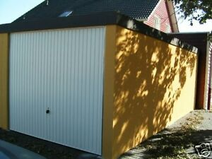 Details zu Fertiggarage 2,75x 8,84 x2,23m Garage fertiggaragen 1a  Abstellraum nach Wunsch