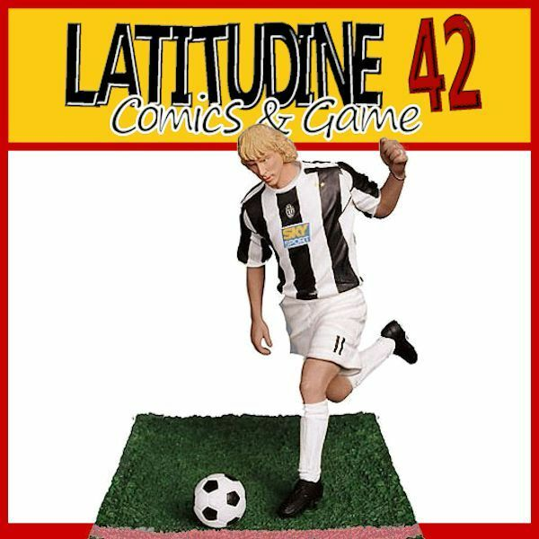PLAYWELL STARS OF SPORT FOOTBALL JUVENTUS PAVEL NEDVED ACTION FIGURE NEW!