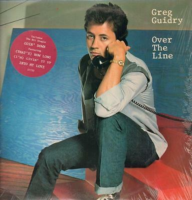 Greg Guidry(Vinyl LP)Over The Line-Columbia-37735-US-1982--Ex/Ex