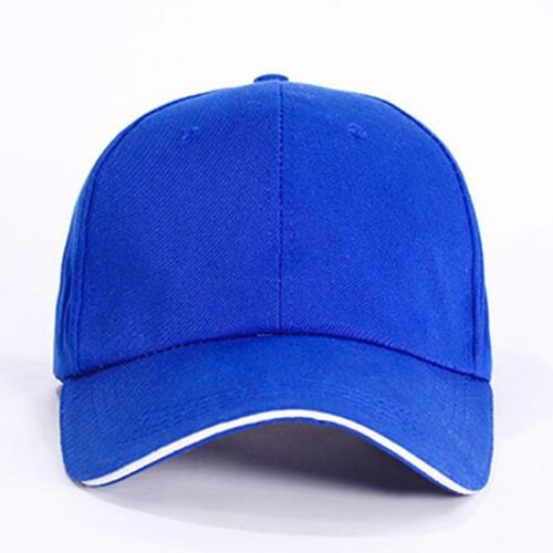 Unisex Mens Womens Baseball Bboy Cap Adjustable Snapback Sport Hip-Hop Hat