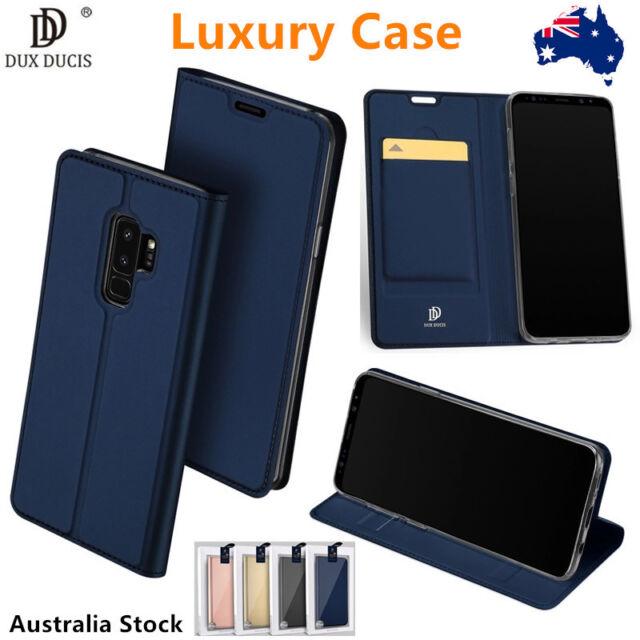 Dux Ducis Luxury PU Leather Wallet Flip Case Cover For Samsung S9 8plus Note9 8
