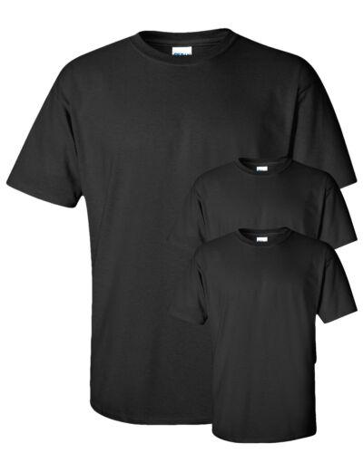 2000 Gildan Men/'s Ultra Preshrunk 100/% Cotton Short Sleeve T-Shirt Pack3