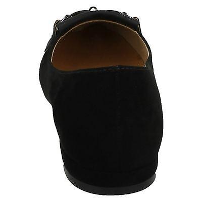 Anne Michelle f80200 Damen schwarz Textil ohne Bügel Ballerina Schuhe