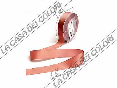NASTRO CANETE/' LARGHEZZA 10 mm COLORE ROSA ANTICO 3 m